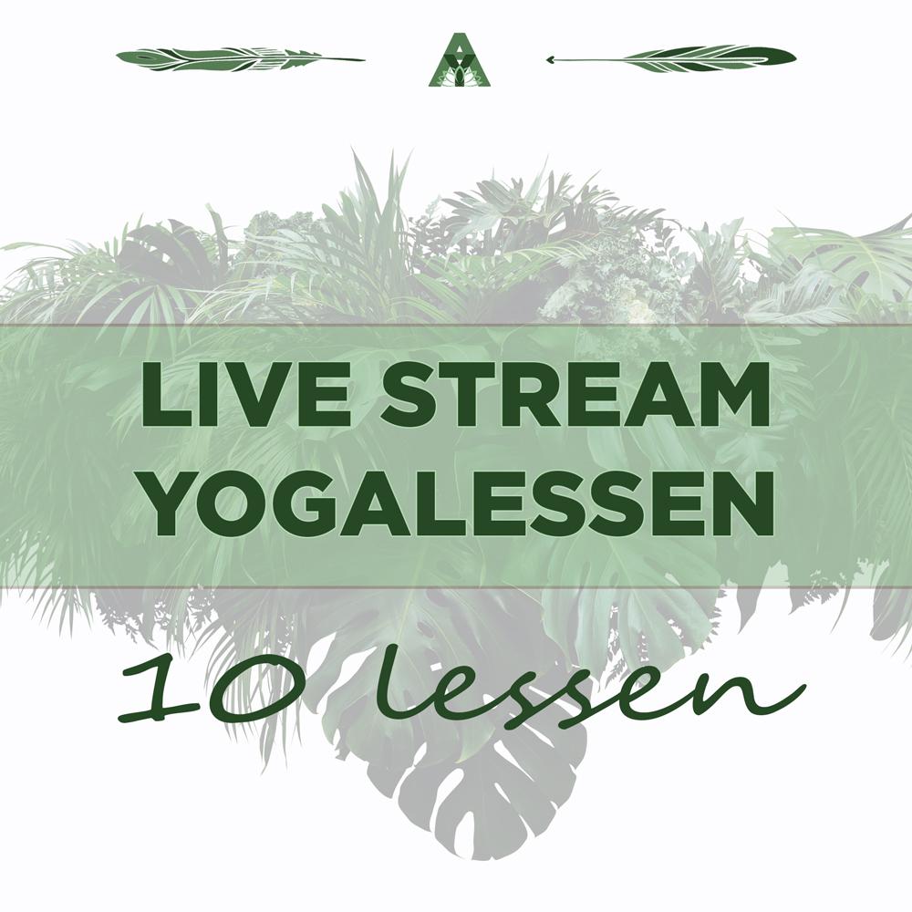 livestream yogalessen angelayoga online yoga