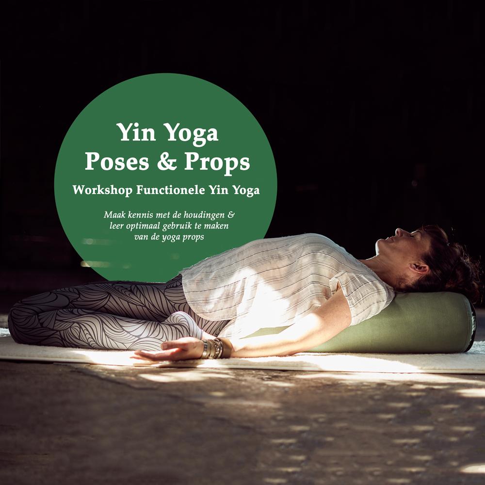 Yin Yoga, Poses & Props, Yoga workshop, Yoga Friesland, Angela Yoga